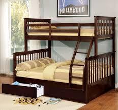 wildon home walter twin over full bunk bed u0026 reviews wayfair