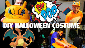 Charmander Halloween Costume Diy Halloween Costume Budget Feat Charizard Dis Pop 09