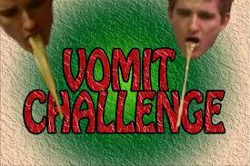 Challenge Vomit Vomit Challenge Warning Vomit