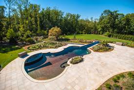 Backyard Landscaping With Pool by Natural Pool Swimming Garden Design Landscape Design With