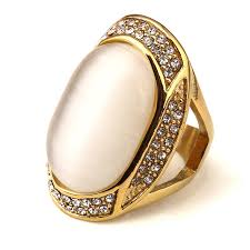 aliexpress buy nyuk mens 39 hip hop jewelry iced out nyuk big gem with rhinestone gold bling ring men gift hip