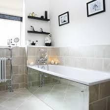 Mirrored Bathrooms Mirrored Bathrooms Small Bathroom With Wall Panel Bathroom Wall