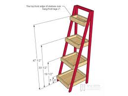 Wood Magazine Ladder Shelf Plans by Build A Storage Ladder Hgtv