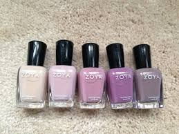 the beauty of life purple passion zoya naturel collection ombre