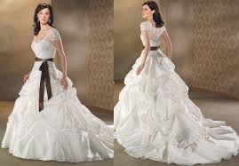 two color wedding dress two toned wedding dresses of the dresses