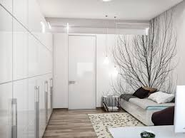 Modern White Bedroom Furniture White Gloss Built In Wardrobe Feat Modern Sofa Beds Storage And