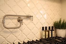 Arabesque Backsplash Tile by Beveled Arabesque Tile Ivory Coast