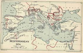 Map Mediterranean Old Maps Od Egypt U0026 Sudan