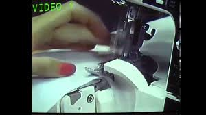 eleanor u0027s elna 925 dcx serger youtube