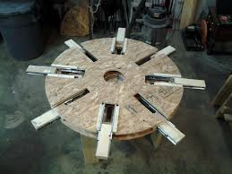 wooden expanding table 600 hours into this project u2013 diy already