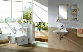creative sanitary ware in the bathroom download 3d house