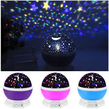 childrens night light projector led rotating star projector baby night light nursery children room