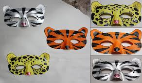 lion mask printable coloring