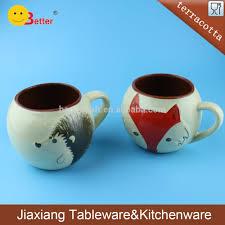 terracotta animal print design mini coffee mug buy mini coffee