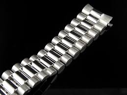 rolex bracelet white gold images 18k white gold president band for rolex jpg