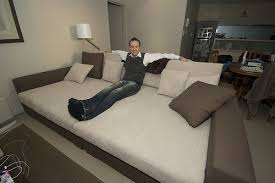 King Size Sofa Bed How To Keep A Bed From Dominating A Mixed Use Room King Size