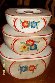 fantastic vintage canisters vintage cottage kitchen