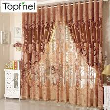 curtains for living room windows top finel hot modern tulle for window curtain embroidered voile