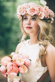 flower crowns 10 flower crown hairstyles for any mywedding