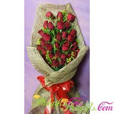 3 dozen roses philgifts bouquet for philippines delivery