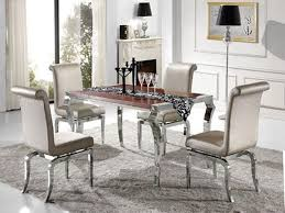 Mirrored Dining Room Table Impressive 40 Silver Dining Room Decorating Design Inspiration Of