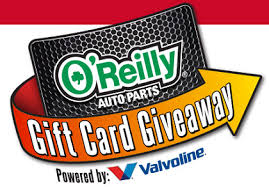 instant win gift cards o reilly automotive gift card instant win giveaway