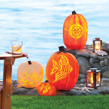 carve a coastal pumpkin coastal living