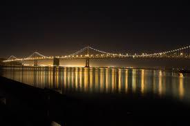 Bay Bridge Light Show The Bay Bridge At Night Scott Schiller Flickr