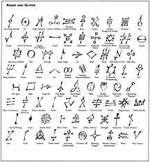 Glyph Symbol - 98 best symbols sigils signs glyphs images on