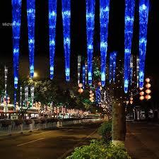 30cm 32led 8tubes blue led icicle light