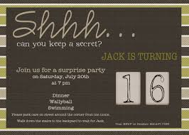 surprise birthday party invitations for him cimvitation
