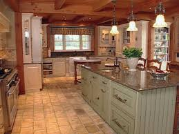 farmhouse kitchen designs soft grey tile backsplash white subway