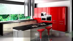 top 10 red kitchen design youtube