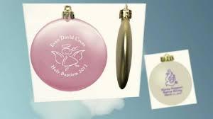 christening ornaments