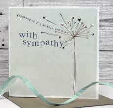 sympathy card sympathy card by molly mae notonthehighstreet