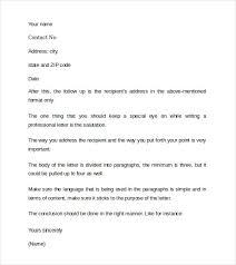 10 sample cover letter word doc sample business cover letter 8