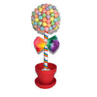Candy Topiary Centerpieces - best christmas centerpiece arrangements products on wanelo