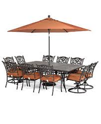 Patio Table 6 Chairs Chateau Outdoor Dining Collection Created For Macy U0027s Furniture
