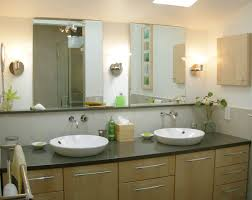 Contemporary Bathroom Vanity Units by Cool Pastel Accents Bathroom Wall Paint Feat Fancy White Wooden
