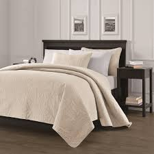 chezmoi collection austin 3 piece oversized bedspread coverlet set
