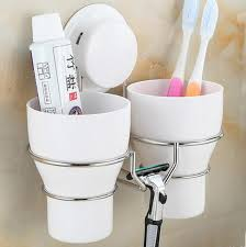 Aliexpresscom  Buy High Quality Wall Toothbrush Holder Set With - White plastic bathroom accessories
