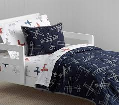 Pottery Barn Outlet Bedding Braden Airplane Toddler Quilt Pottery Barn Kids