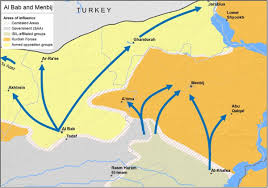 Damascus Syria Map Kurds Shed Light On Russia Damascus Deal Preventing Turkey U0027s