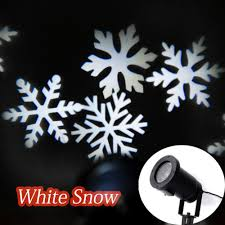 sweon moving snowflakes l laser light spotlight