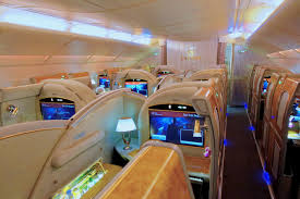 Emirates Airbus A380 Interior Business Class Emirates Airbus A380 First Class Overview Point Hacks Nz