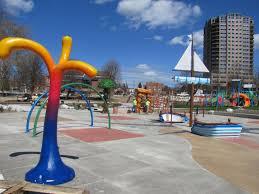A Place Cda City Of Coeur D Alene Mceuen Park Splash Pad Pieces In Place