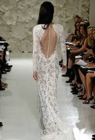 wedding dresses open back open back wedding dresses from the fall 2015 bridal runways brides