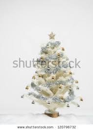 Silver And White Christmas Decorations Silver Christmas Tree Stock Images Royalty Free Images U0026 Vectors