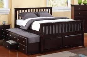 solid wood daybed with trundle foter