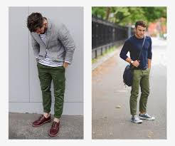 Colors That Look Good With Green How To Rock Colorful Pants The Gentlemanual A Handbook For